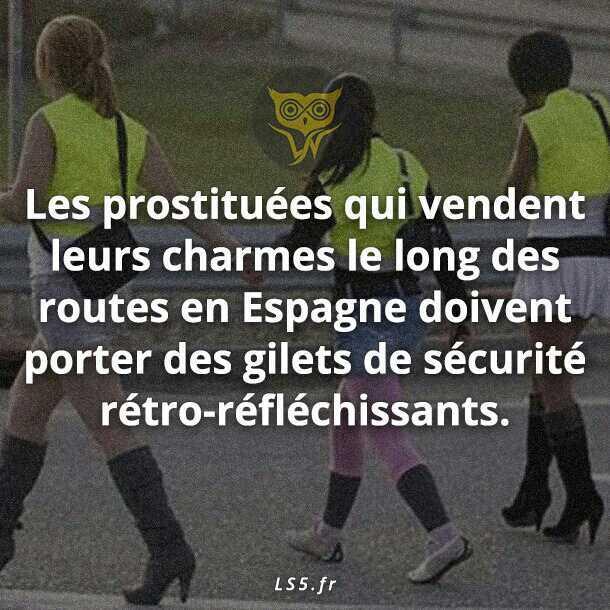 Les prostituée qui font du stop - meme