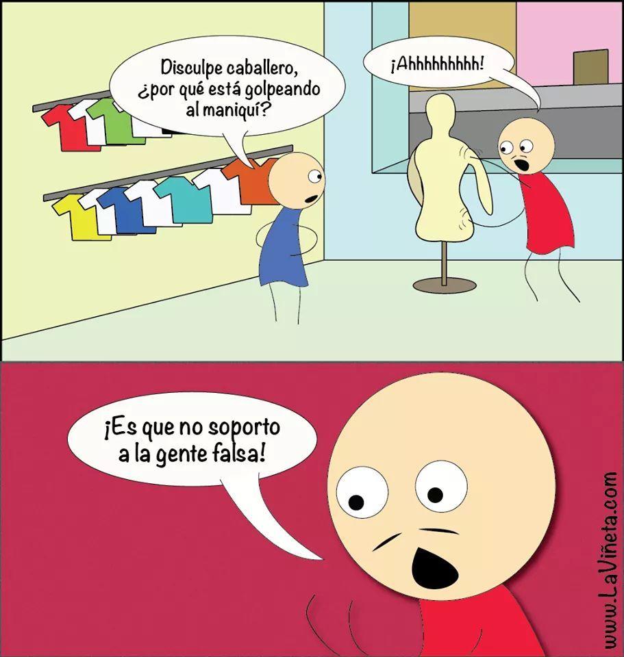 Falsos everywhere - meme