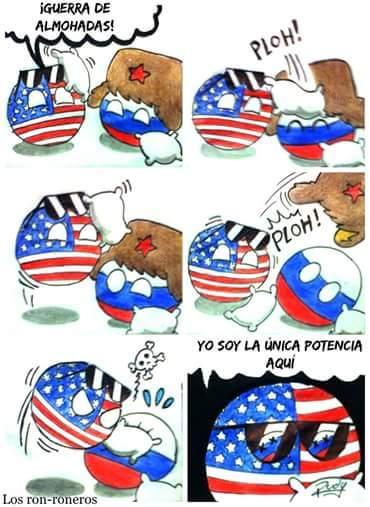 LOS GRINGOS SON LA POTENCIA :V - meme