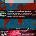 Plague Inc. The feminism program