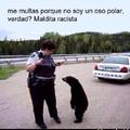 si nunca te multó una policía por no ser un oso polar no tuviste infancia