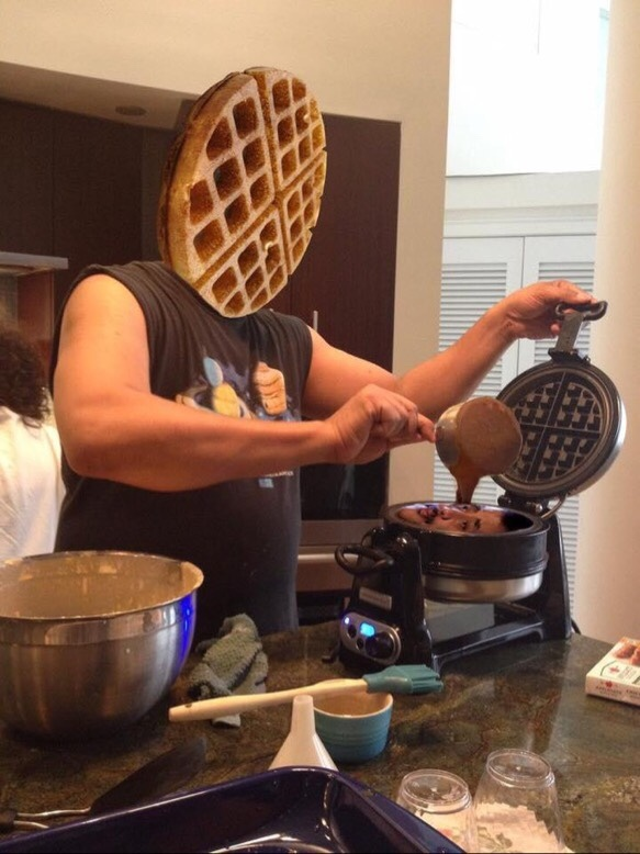 you must become the waffle - meme
