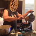 you must become the waffle
