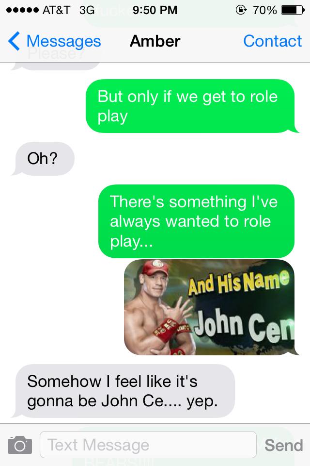 Sexting the GF - meme