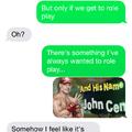 Sexting the GF