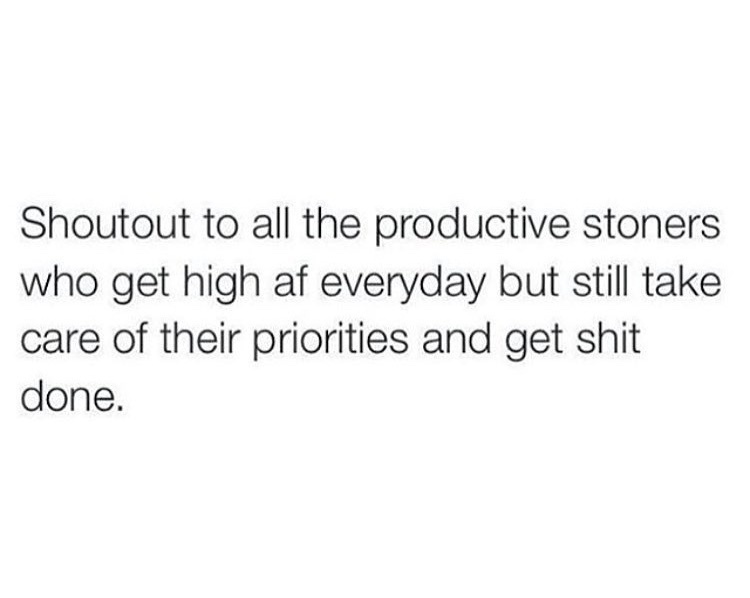 productivity on a 'high'er level ;) - meme