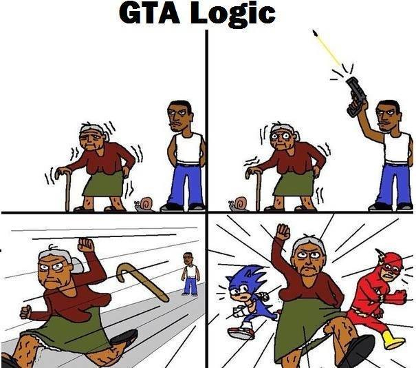 GTA Logic - meme
