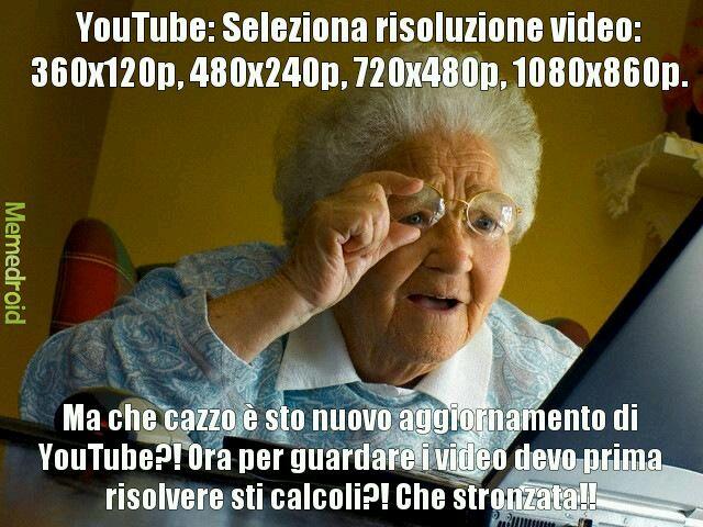 Nonna v.s. PC - meme