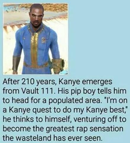 Kanye at his best - meme