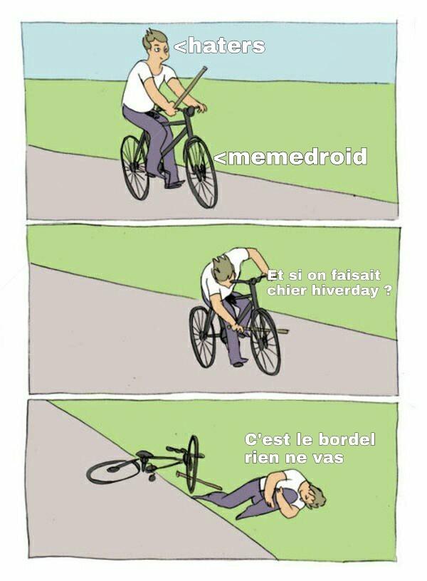 Haters, voici votre stupidité - meme