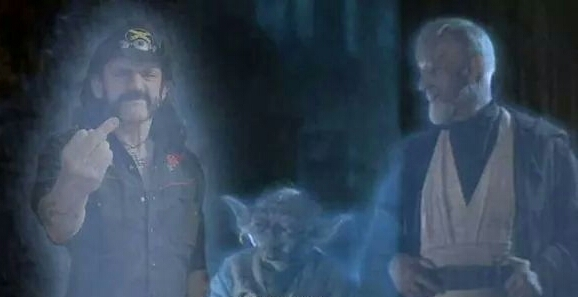 Lemmy was a Jedi - meme