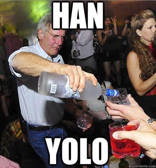 Han Yolo - meme