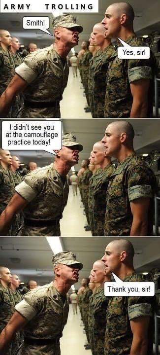 military troll - meme