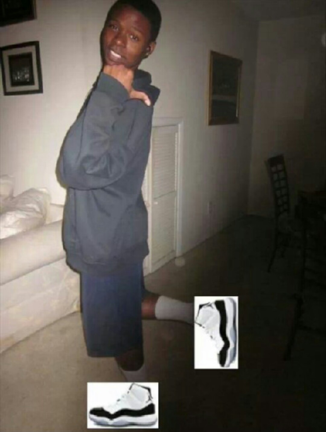 Jays on mah feet - meme