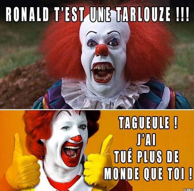 Clownesque - meme