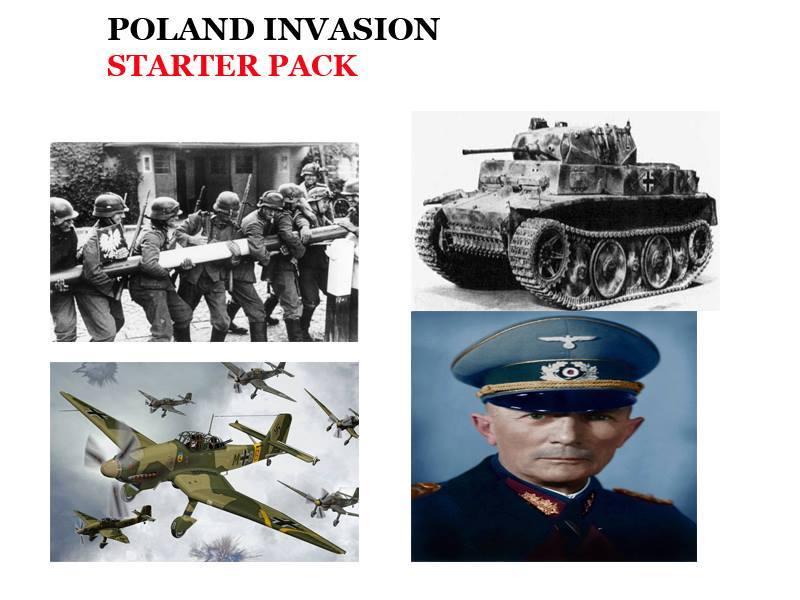 Invasion de la Pologne: starter pack - meme