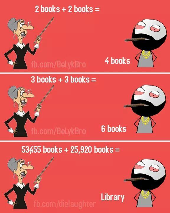 Library - meme