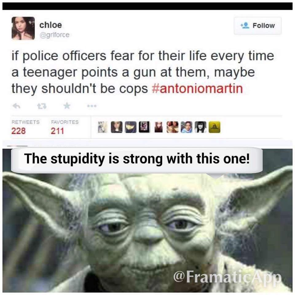 Sighhh...anti police statements in... 3..2..1 - meme