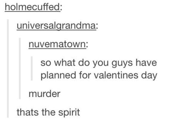valentines days plan - meme