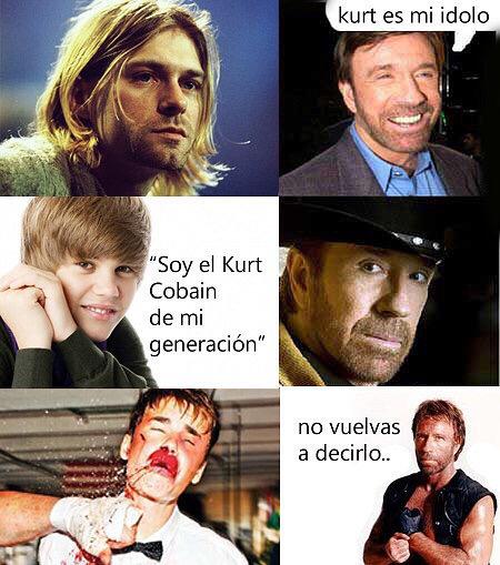 Hola, soy Chuck Norris - meme