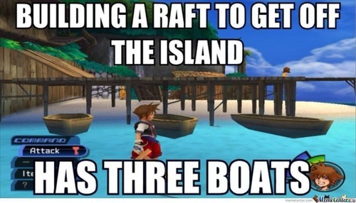 Title loves Kingdom Hearts - meme