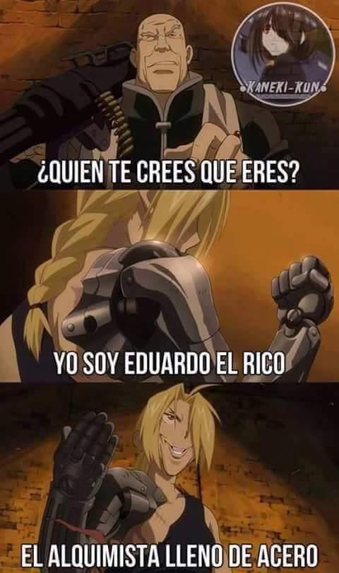 Eduardo el riko - meme