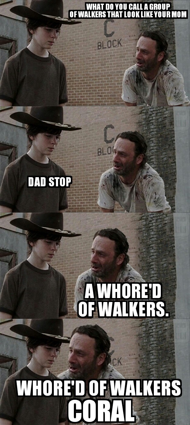 whore,d of walkers - meme