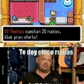Rick en The Legend Of Zelda