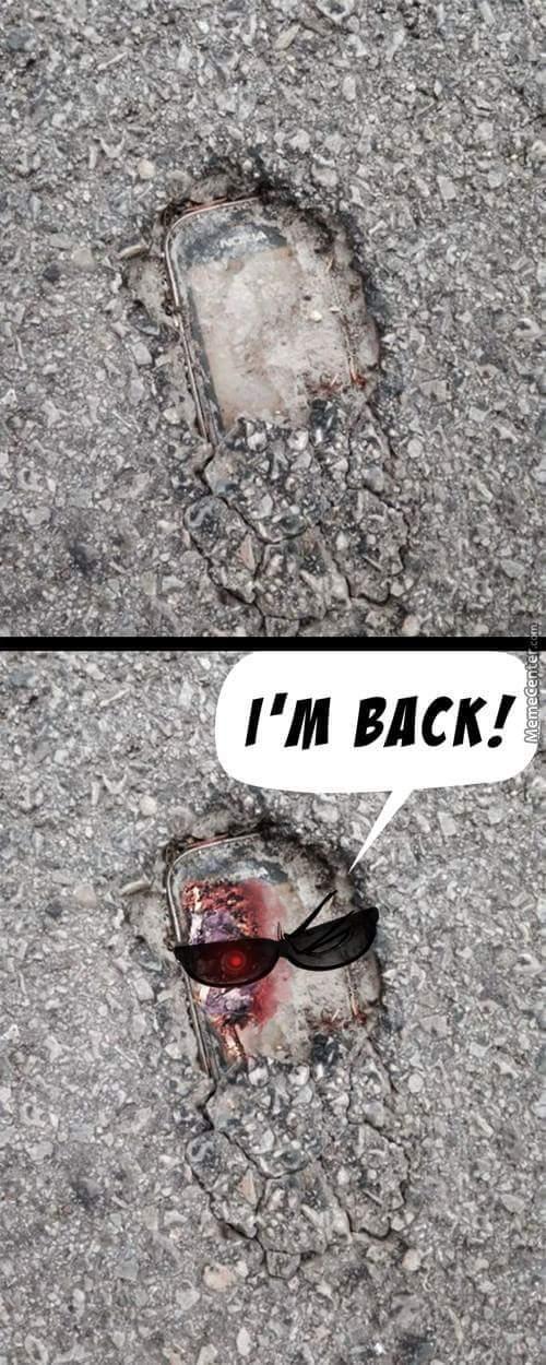 De retour ! - meme