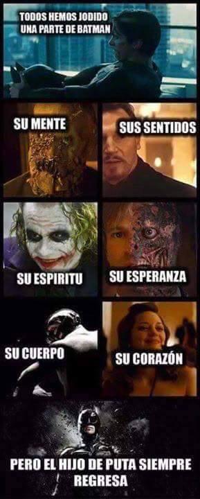Porque es Batman... - meme