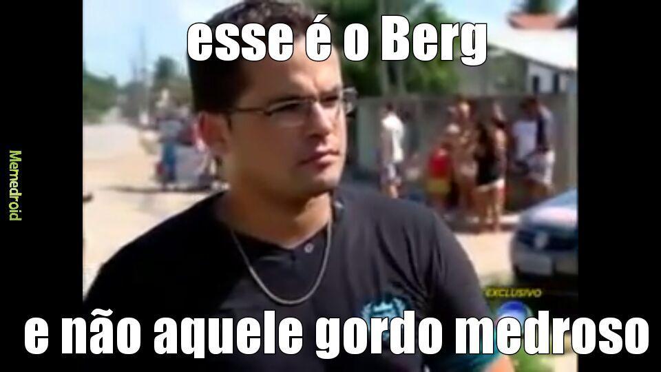 corre berg - meme