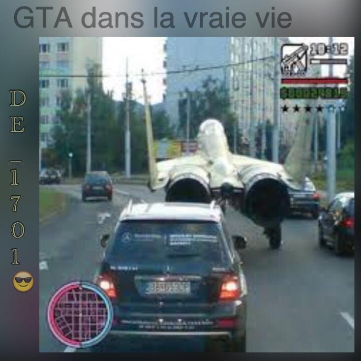 GTA dans la vraie vie - meme