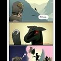 Pobre Shadowmere (o cavalo)