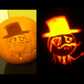 Fancy..Pumpkin. Sir
