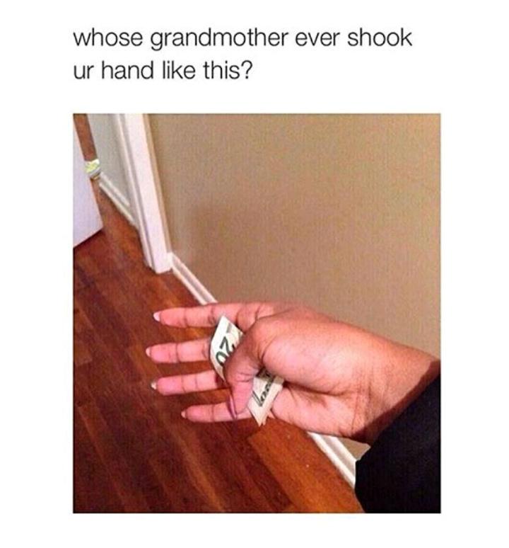 I miss my Grandma - meme