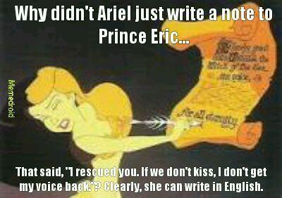 Wtf Ariel? - meme