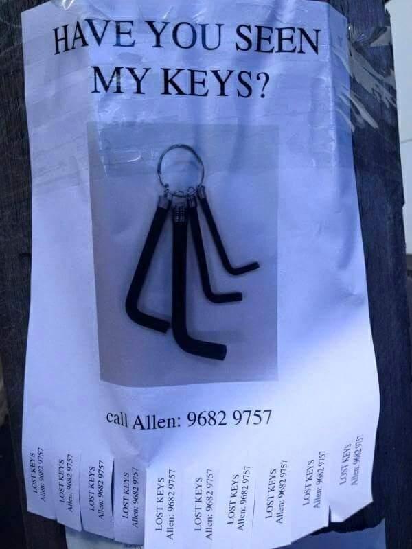 Allen's keys - meme