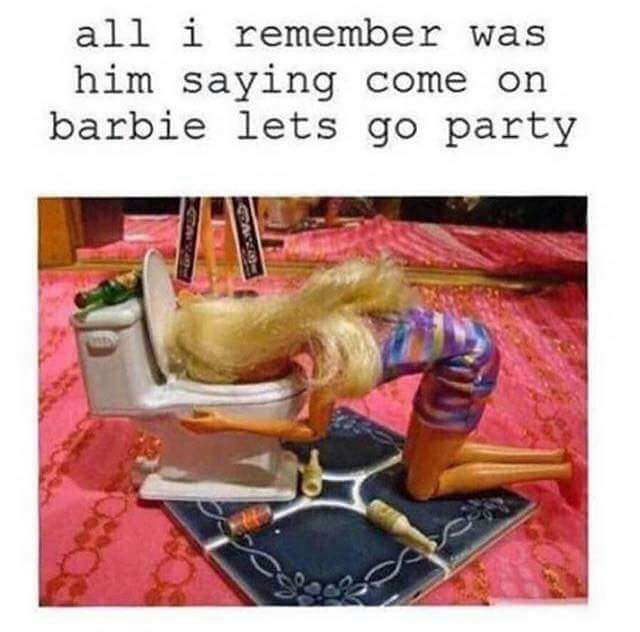 Barbie - meme