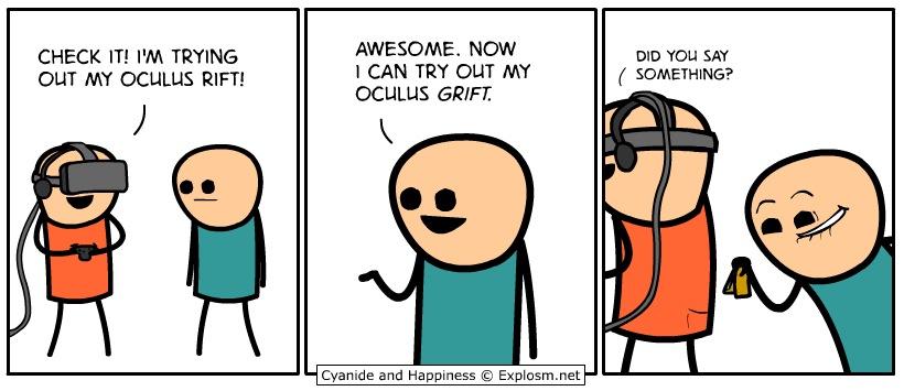 Grand Oculus Theft - meme