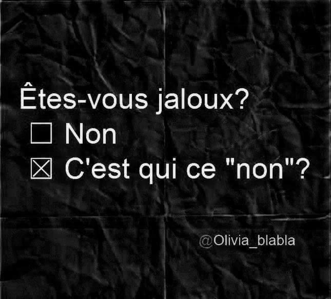 Jaloux ???? - meme