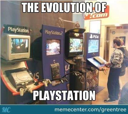 PlayStation is awesome - meme