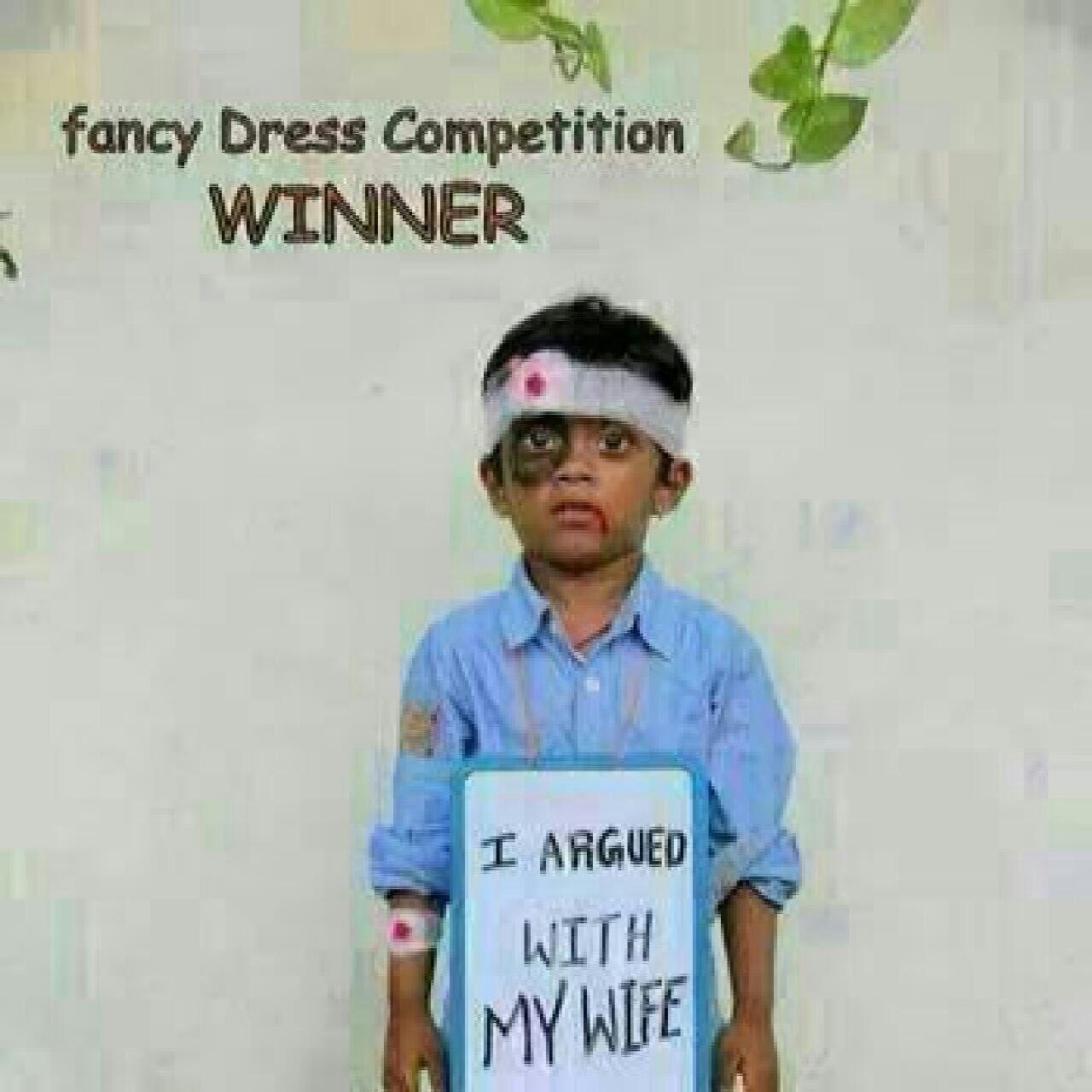 Fancy dress competition winner - meme