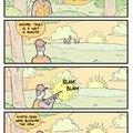 Stupid deer