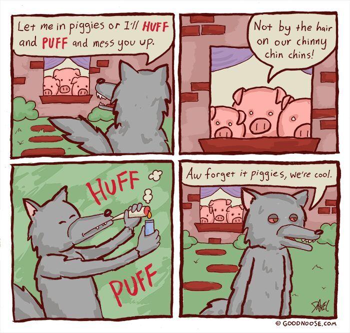 three little piggies - meme