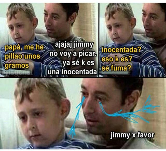 Puto jimmy xavales - meme