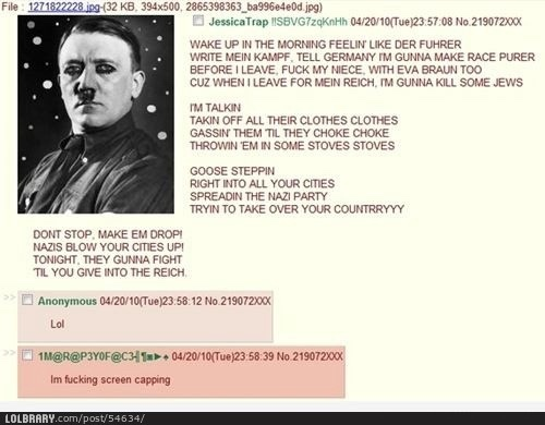 Nazis internally - meme