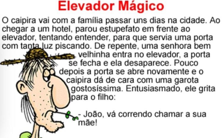 Titulo foi colocar a esposa na elevador magico - meme