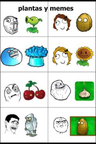 Plantas vs meme