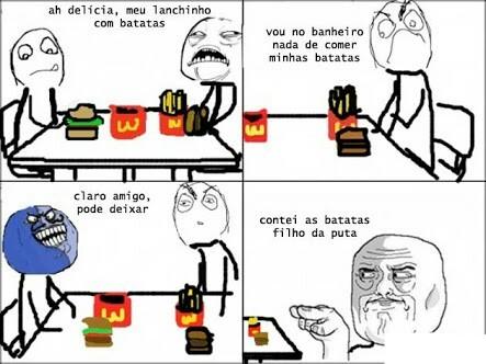 Minhas batatas - meme