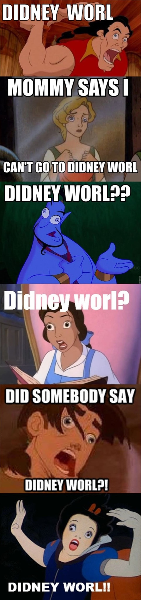 Didney Worl? - meme